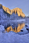 Yosemite in winter :